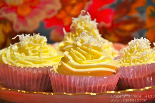 Coco-lime cupcakes