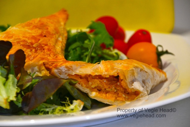 Pumpkin & Cashew Cheese Triangles