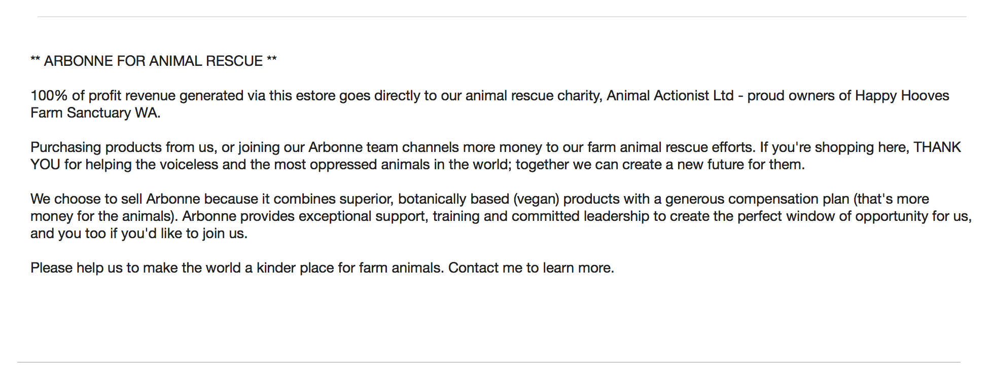 arbonne-for-animal-rescue